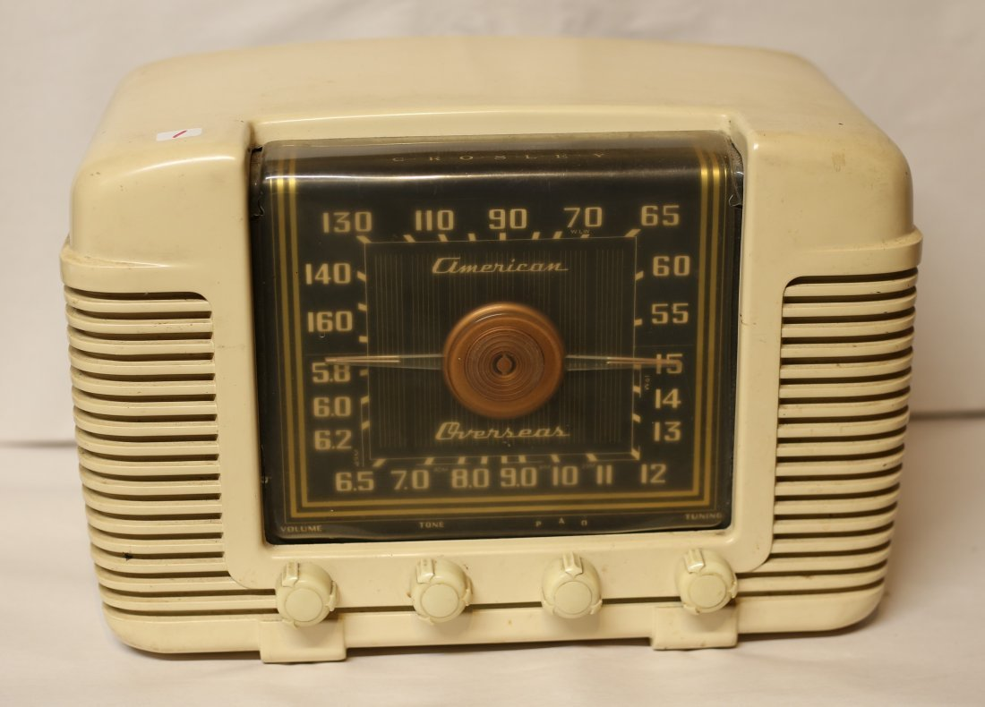 Radio Marked American Overseas.