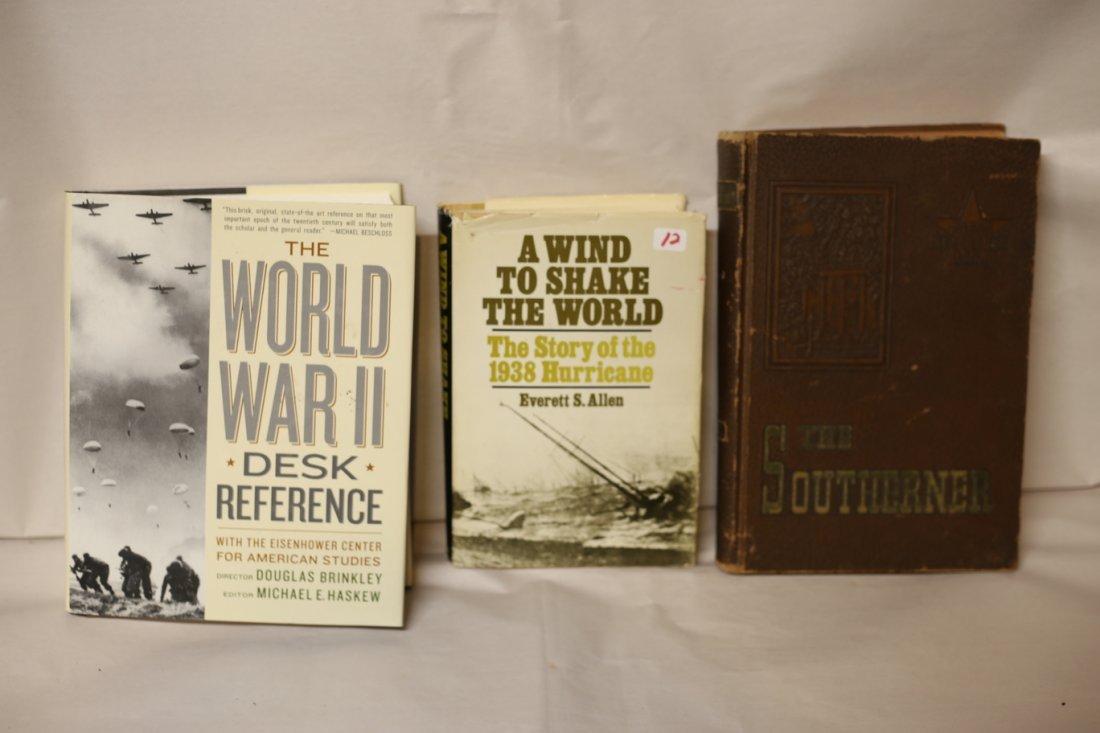 World War 2 books and The Southern - 2