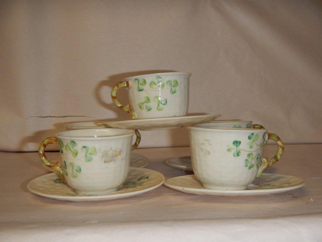 Belleek Tea Cup and Saucer