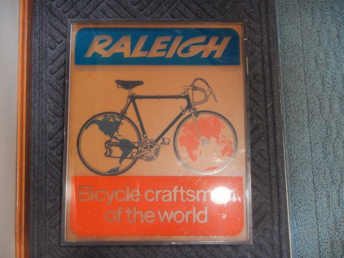Raleigh bicycle Store Display Sign - 2