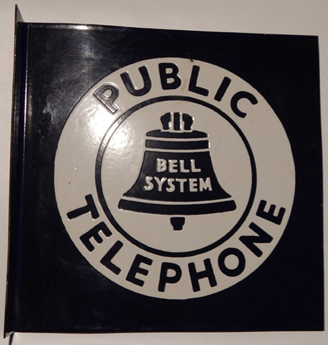 Bell Public Telephone sign