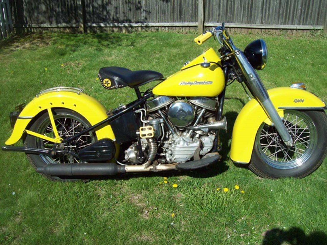 1954 Harley Davidson Panhead