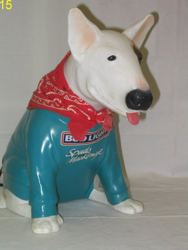L015 - Spuds MacKenzie Dog with Light