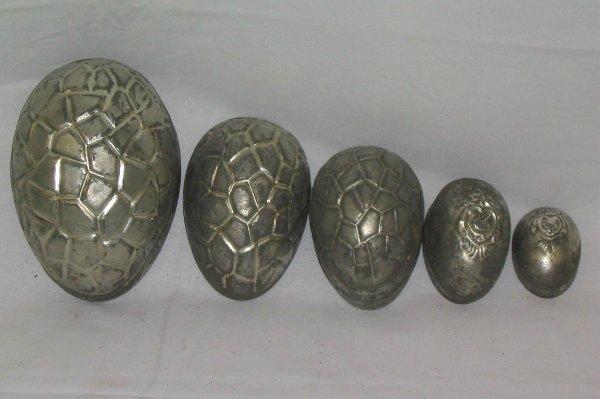 L502-20 metal chocolate molds