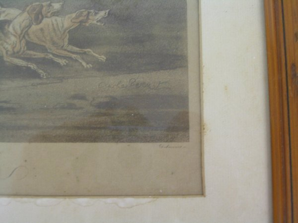 L507 - 2 OLD FRENCH PRINTS