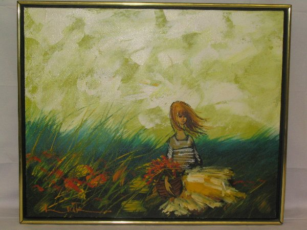 L508 - 20th century painting by Luca R