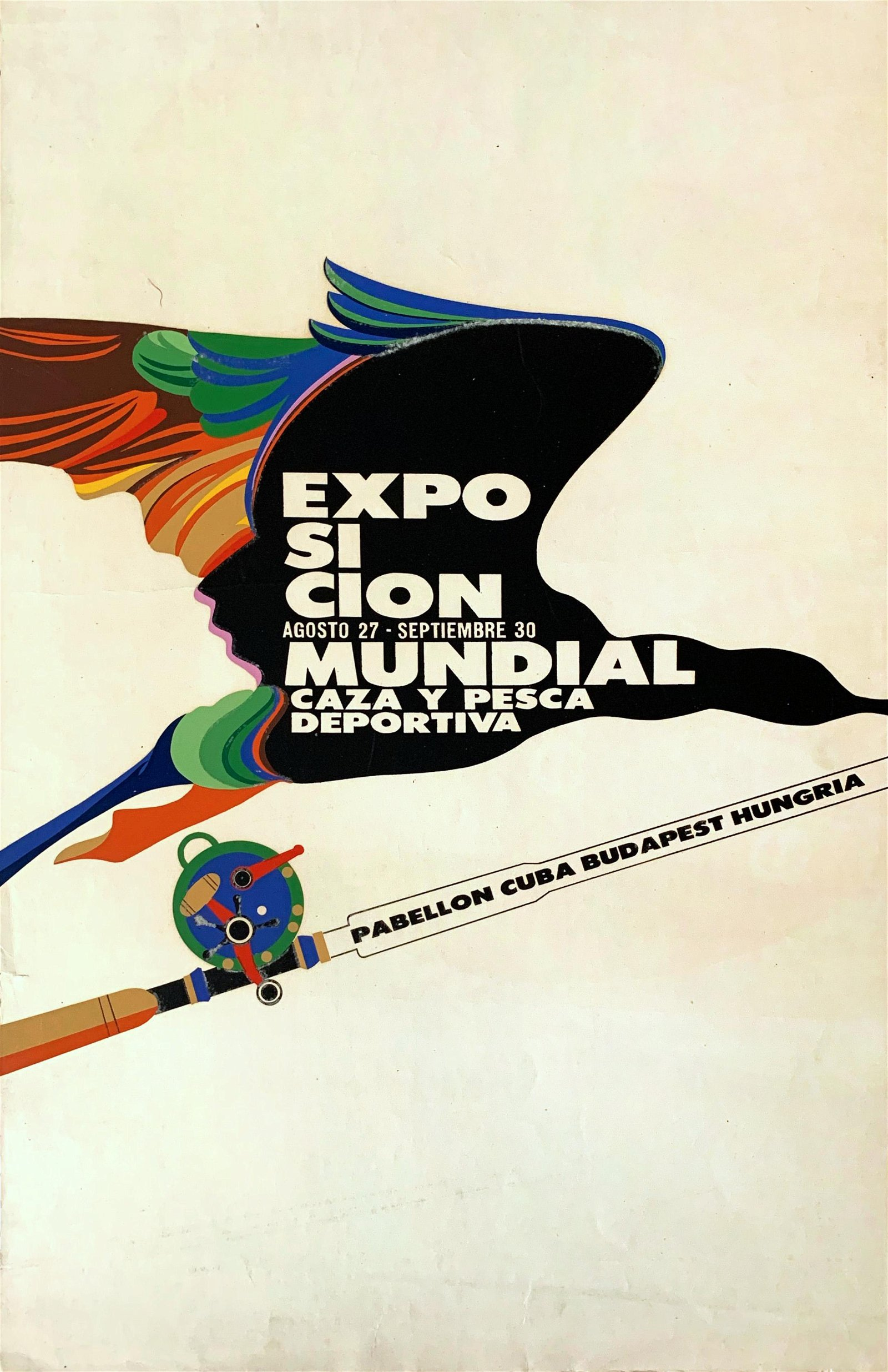Poster International Hunting Expo 1971