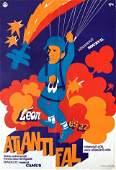 Movie Poster Atlantic Wall 1971