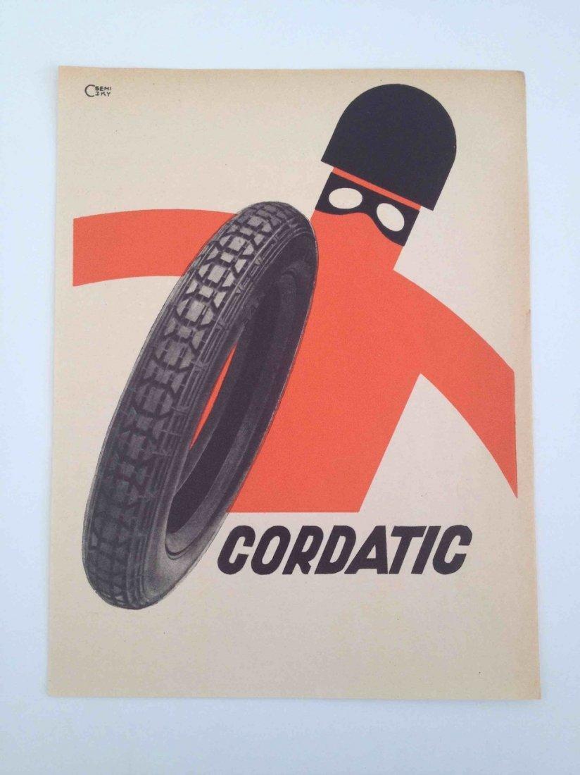 Cordatic. Advertisement by Csemiczky
