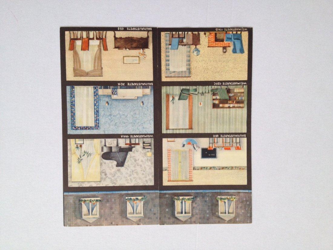 Bauhaus, Weimar, May wallpaper catalogue - 2