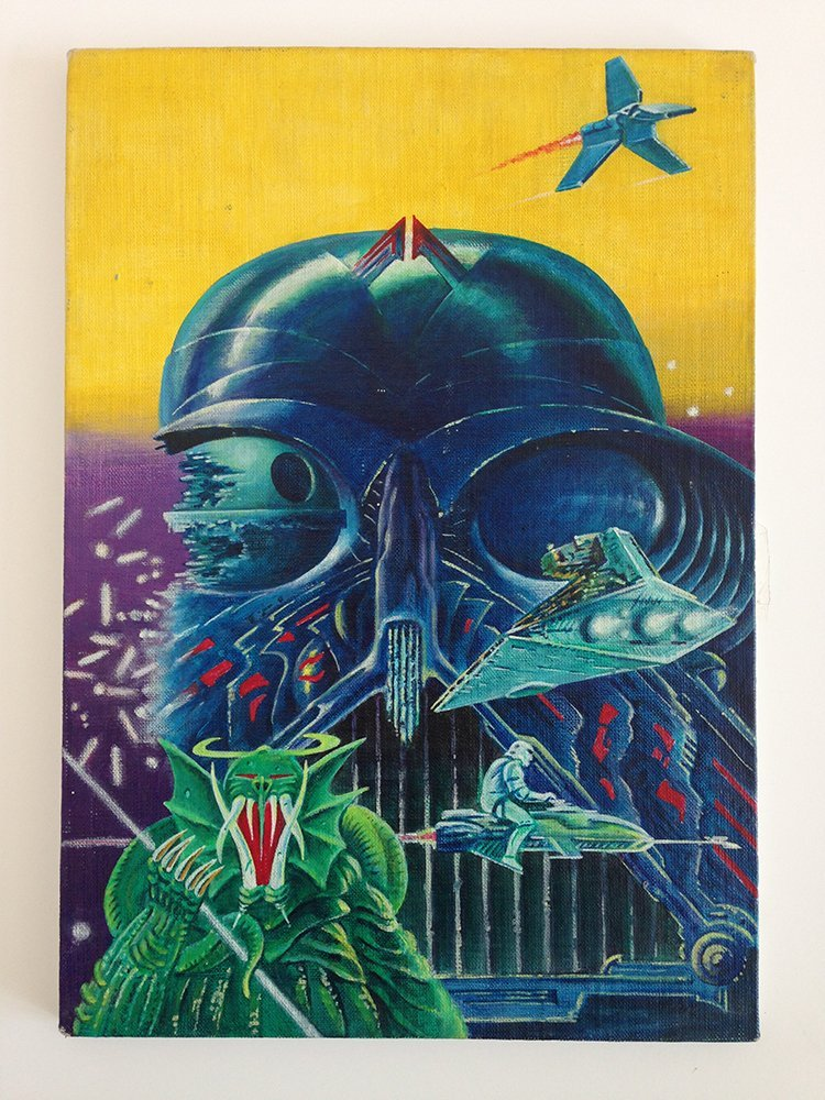 Star Wars: Return of the Jedi painted poster artwork
