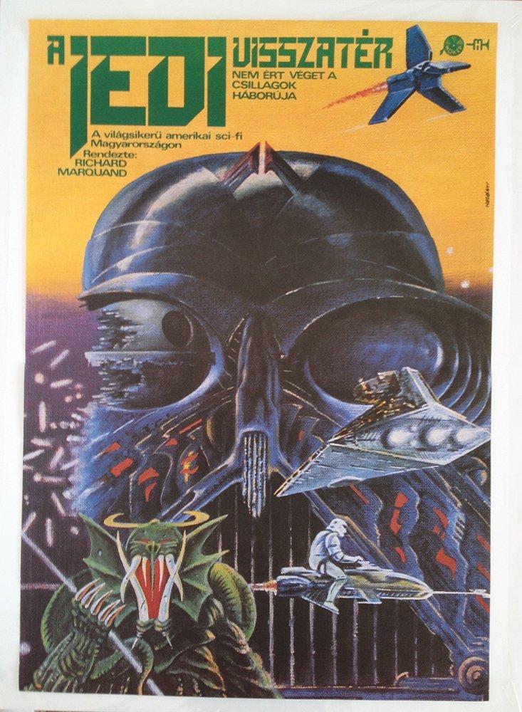 Star Wars: Return of the Jedi movie poster