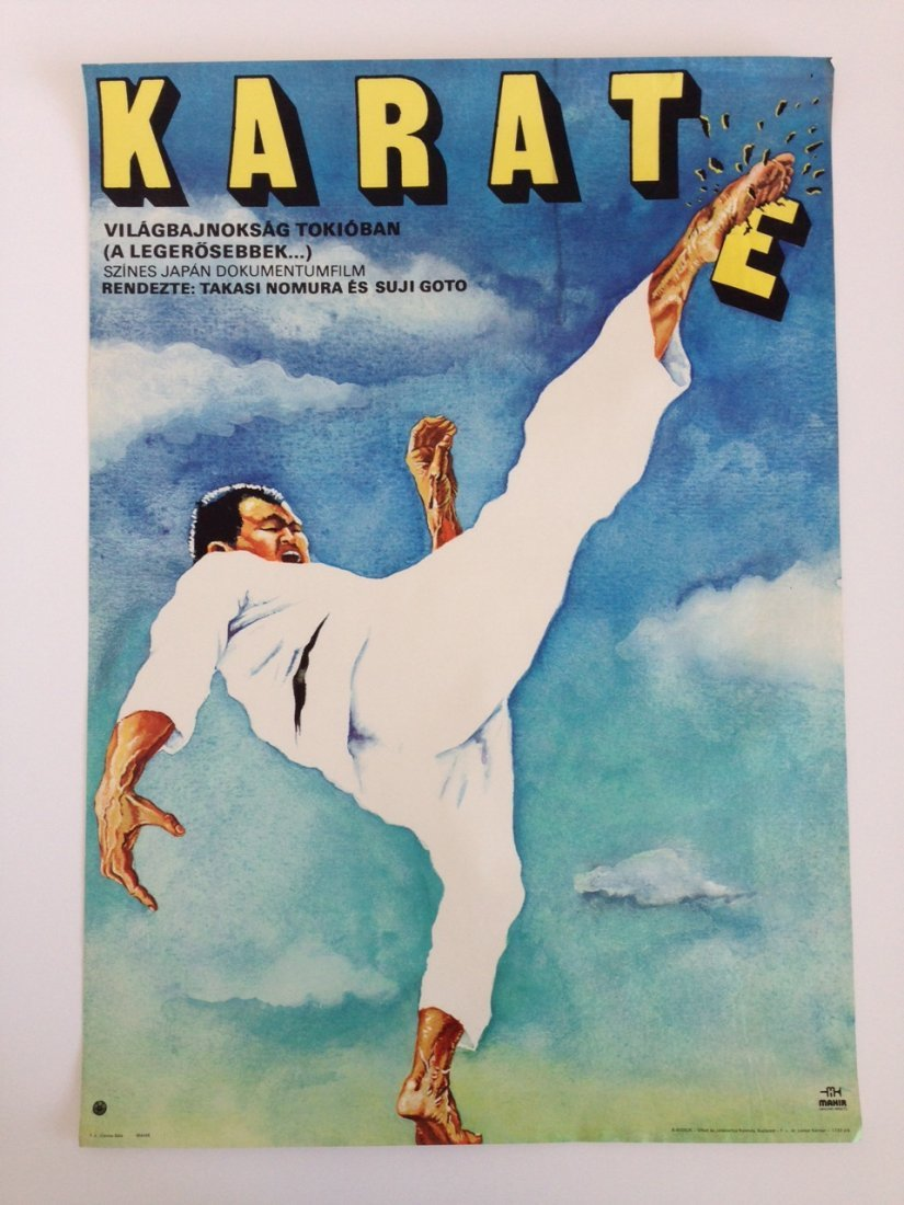 Strongest Karate, The movie poster