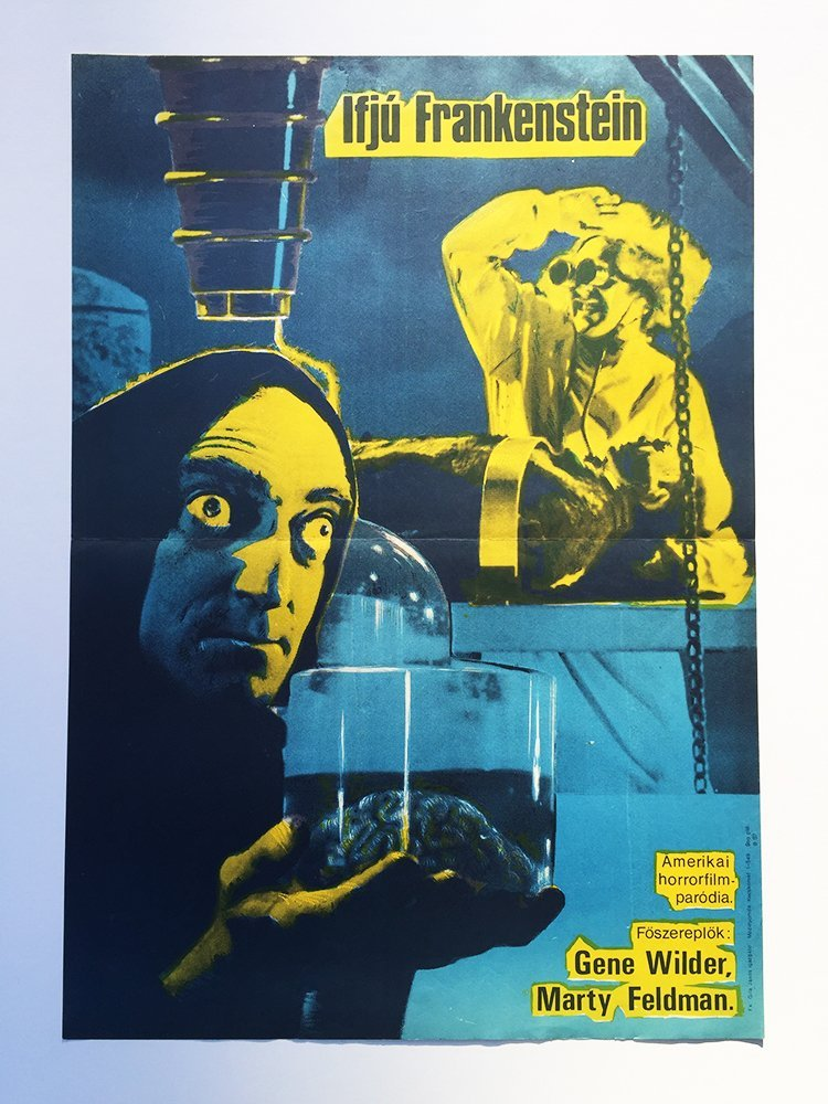 Young Frankenstein Style B movie poster