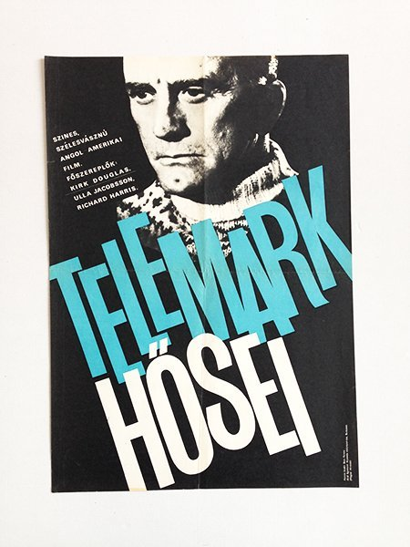 Heroes of Telemark movie poster
