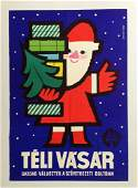 Winter Fair vintage poster
