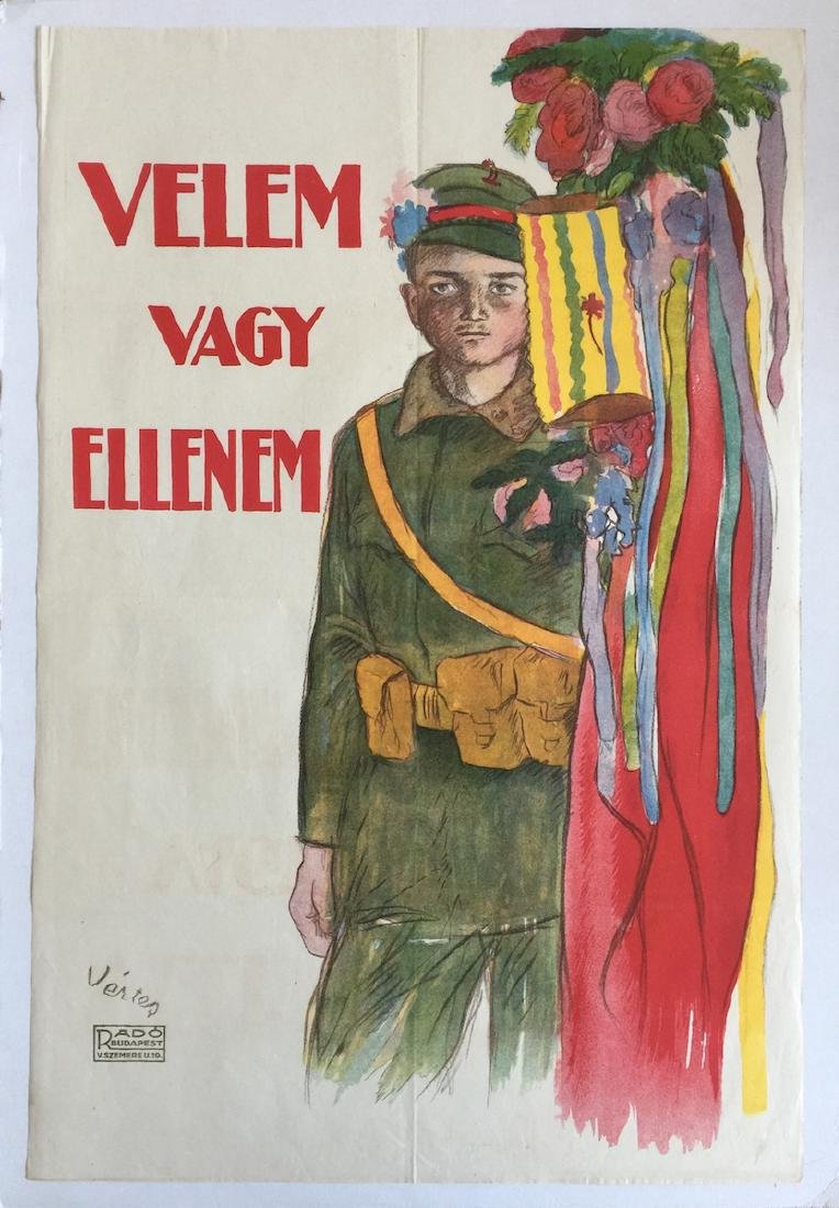 With me or against me - Hungarian Soviet Republic