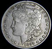 1892 O Morgan Silver Dollar, Better New Orleans Dated