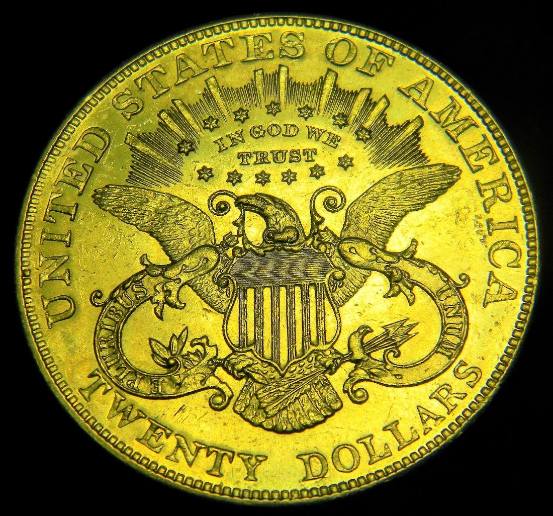 1904 Choice Uncirculated Liberty $20 gold Double Eagle - 2