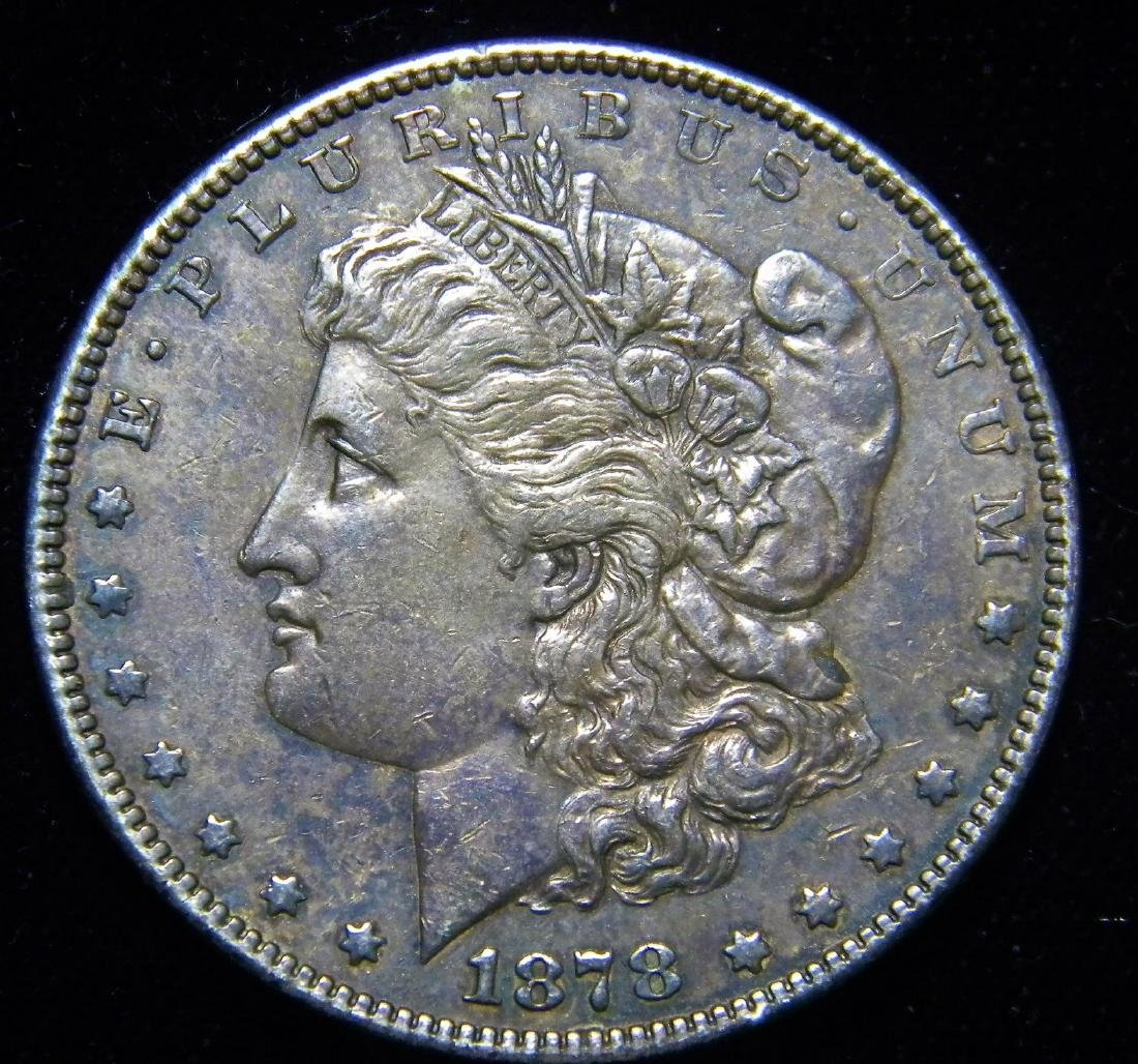 1878 S Morgan Silver Dollar 1st. Year  High Grade