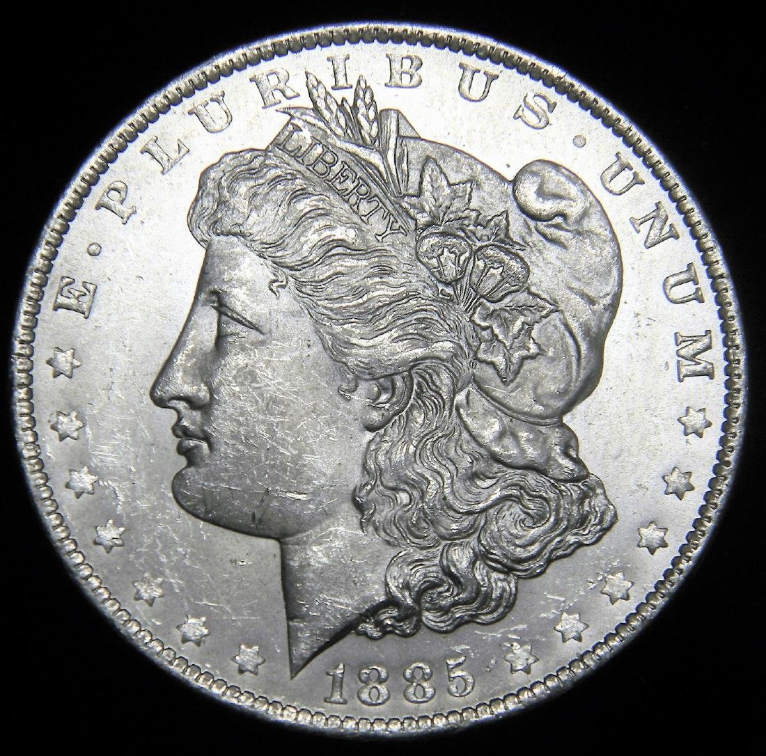 1885 O Morgan Silver Dollar Gem Brilliant Uncirculated