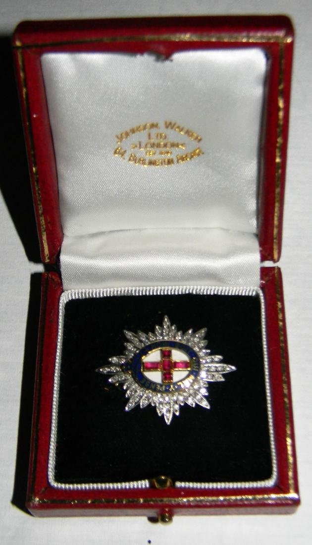 Ultra Rare 18K White Gold Most Noble Order of the