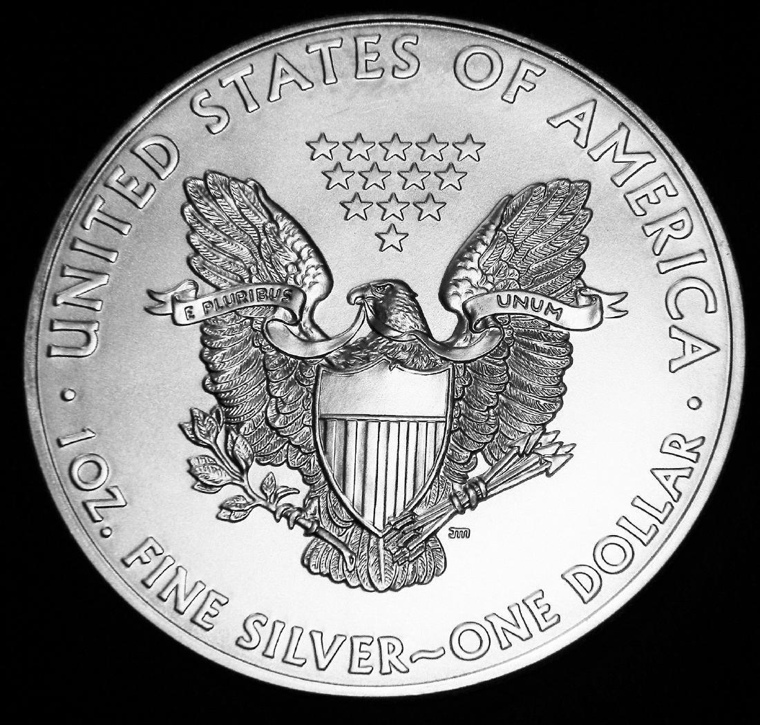 2011 American 1 Oz. 0.999 Fine Silver Eagle Brilliant - 2