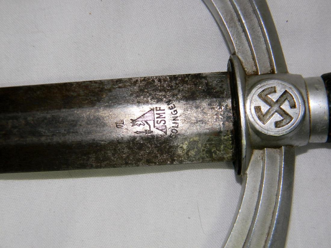 Rare German WW2 Dagger Luftwaffe Officer 1st Model - 4