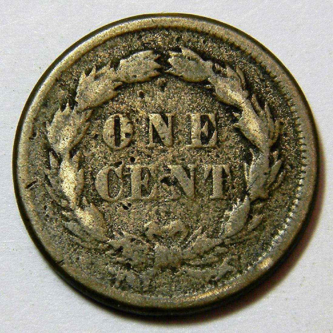 1859 Indian Head Cent, Type 1 Copper-Nickel Cent, First - 2