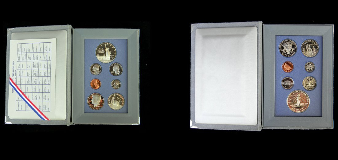 1986 United States Mint Prestige Proof Set