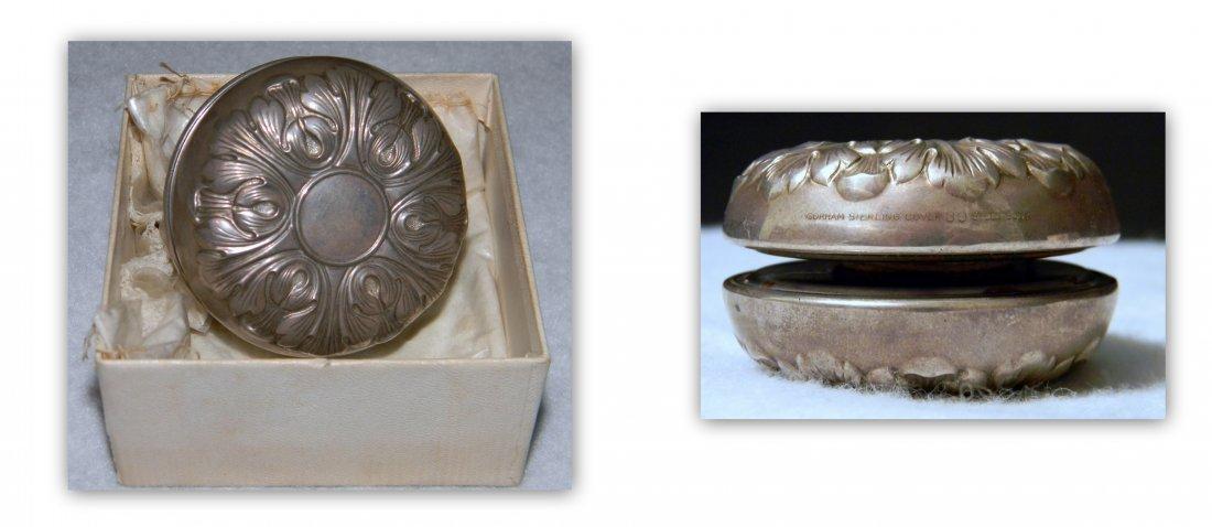 Gorham Sterling Silver Yo-Yo with Repousse Design