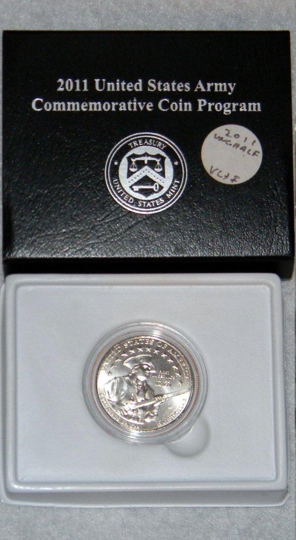 2011 D US Army Half Dollar Commemorative - Gem Uncircul
