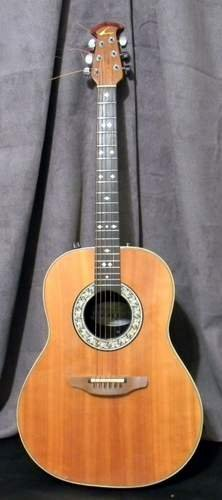 1981 Ovation Acoustic Guitar Model 1612