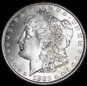 1882 CC Morgan Silver Dollar VAM 3B Bearded Eagle