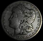 1889 O Morgan Silver Dollar New Orleans Mint Micro O