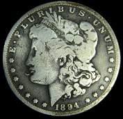 1894 O Morgan Silver Dollar Key Date Better Date