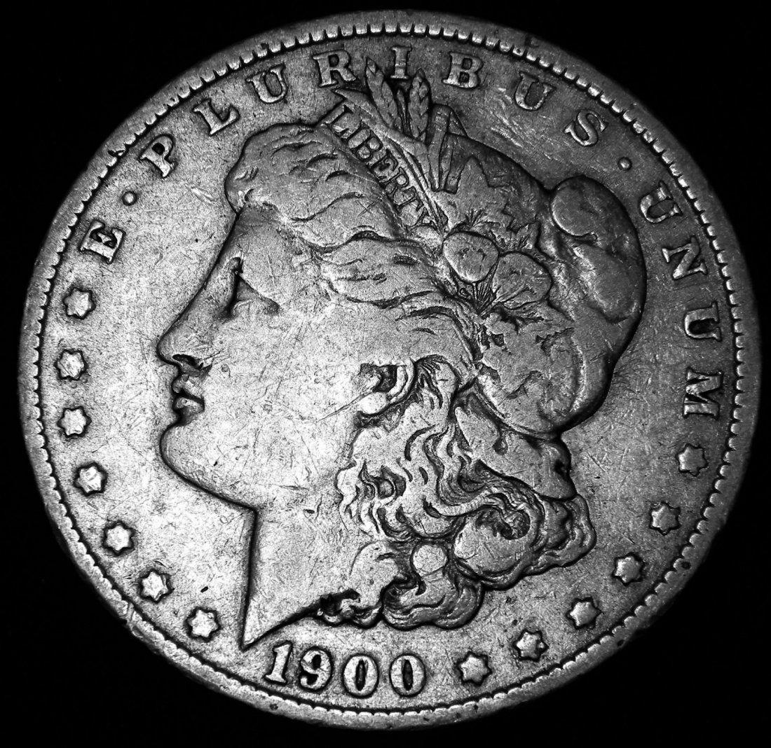 1900 O Morgan Silver Dollar, New Orleans Mint