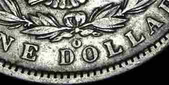 1900 O over CC Morgan Silver Dollar VAM 12 Scarce