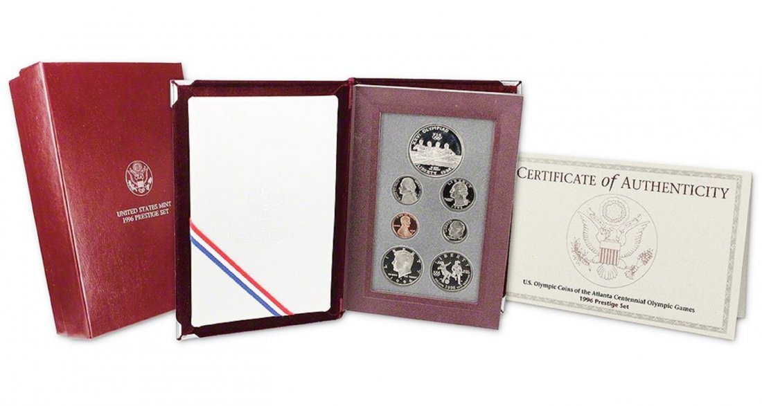 1996 U.S. Olympic Coins of the Atlanta Centennial