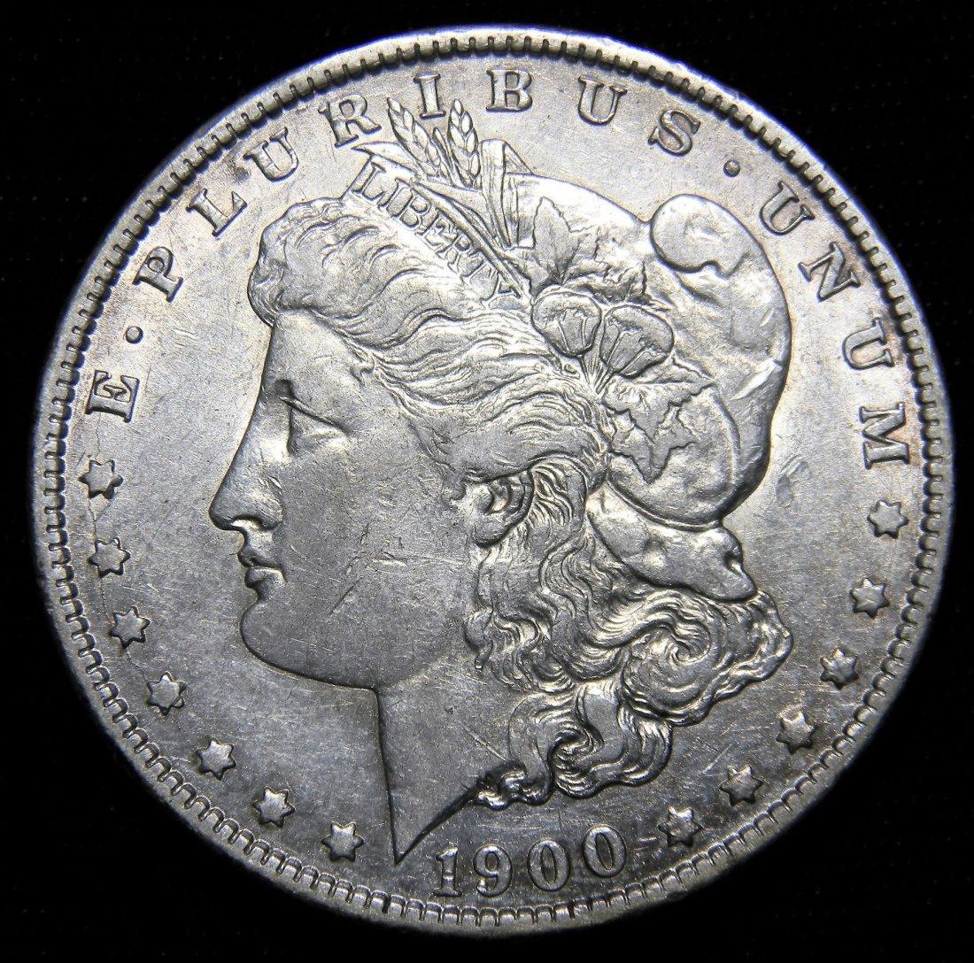 1900-O Morgan Silver Dollar, Very Fine Details