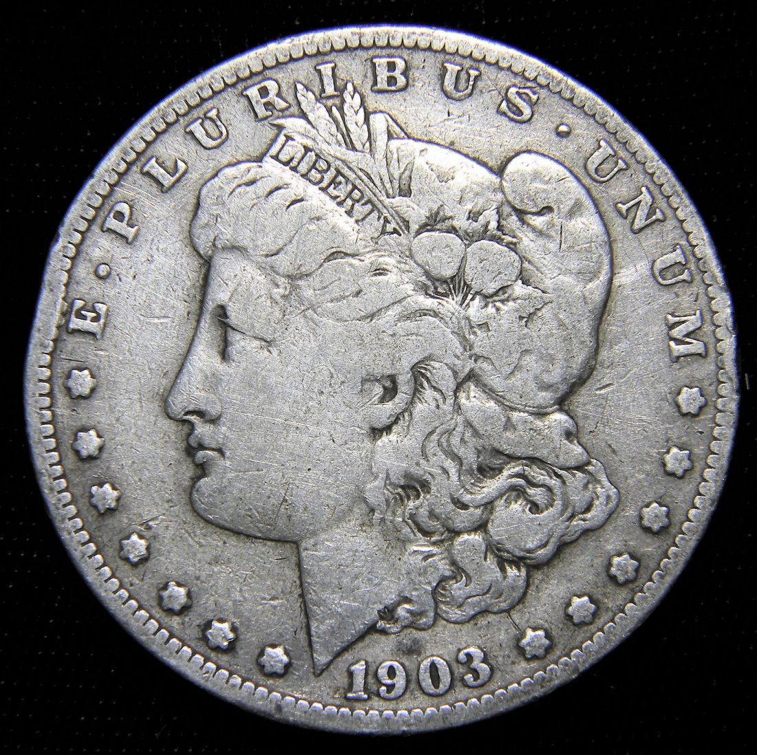 1903-S Morgan Silver Dollar, Very Good + Details