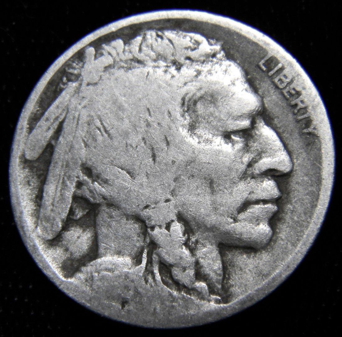 1916-D Indian Head (Buffalo) Nickel, Good Details