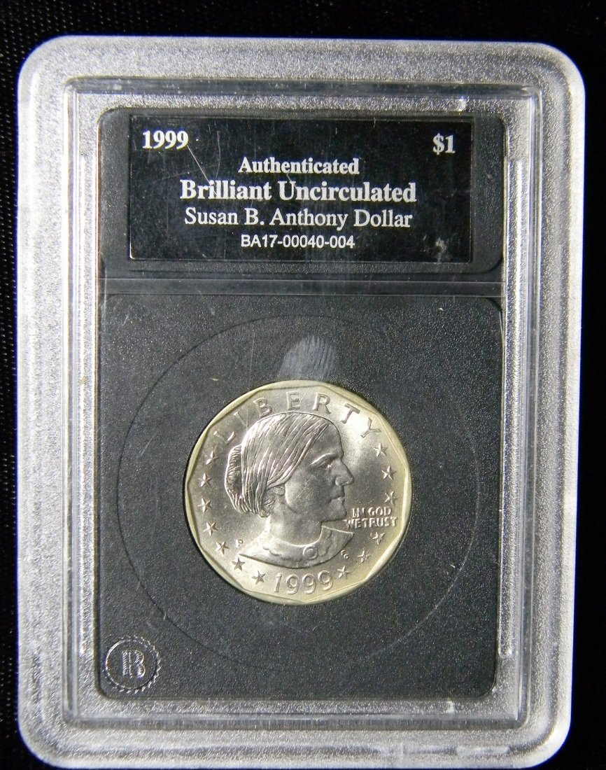 1999-P Brilliant Uncirculated Susan B Anthony Dollar