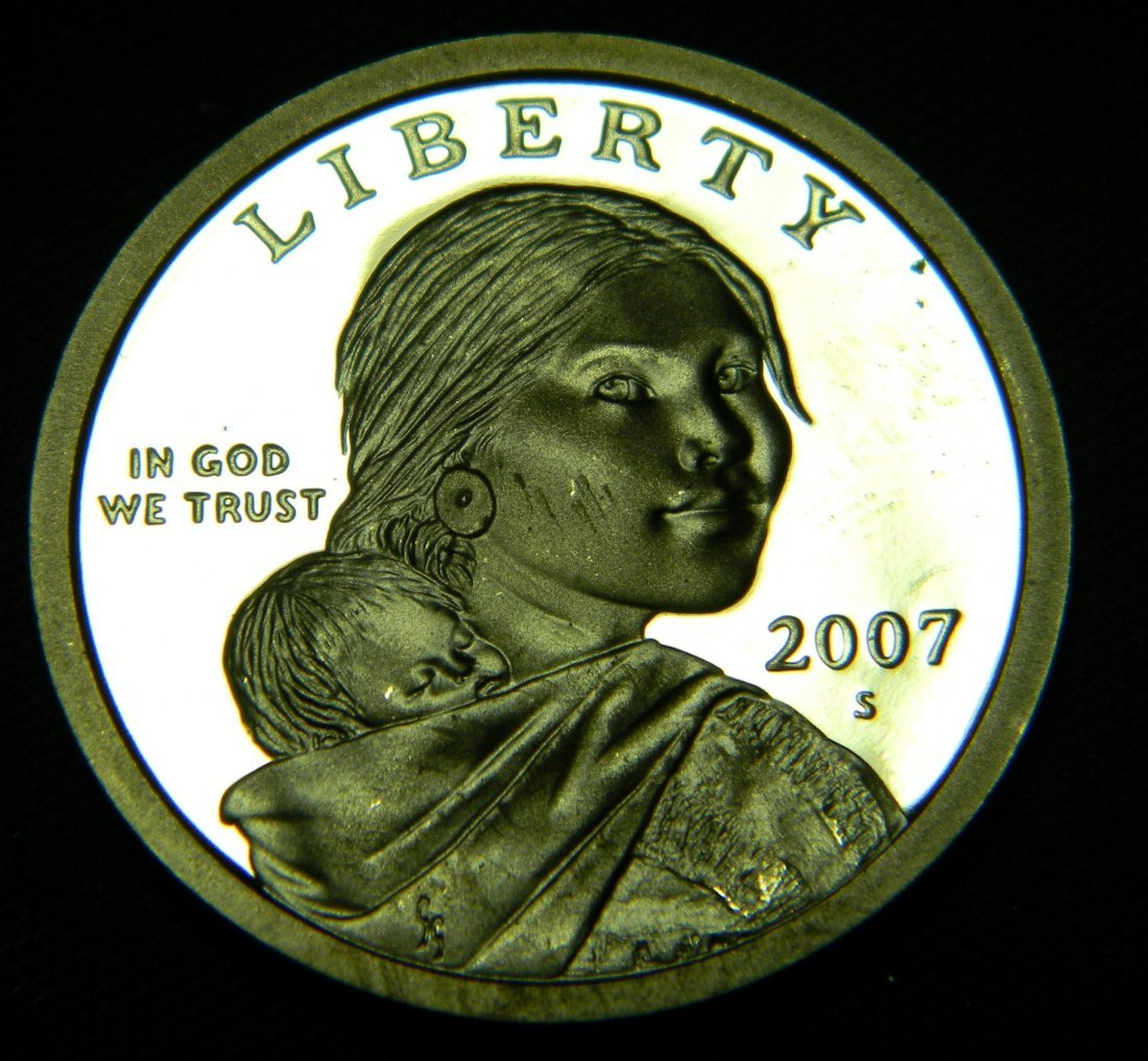 2007-S Sacagawea Proof Dollar