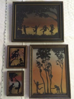 Diefenbach Rainbow Silhouettes - lot of 4