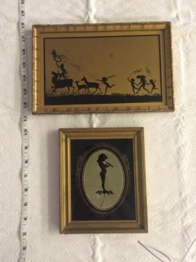 Diefenbach Silhouettes - lot of 2