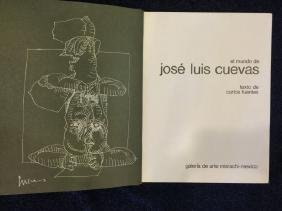 CUEVAS BOOK SIGNED CO-SIGNED BY EDUARDO L. VALENCIA NUM