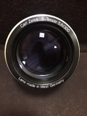Carl Zeiss S-Tessar 5,6/300mm 5.6/300mm Lens W Germany