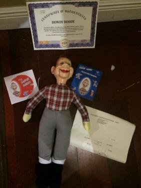 Ideal's Howdy Doody Doll w/ COA, & Extras -in box