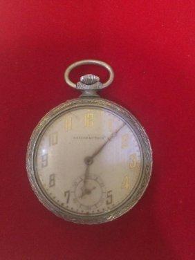 Vtg Satisfaction Pocket Watch (not working)